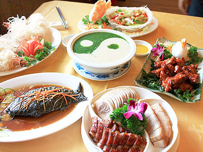 Hong Kong/ Ngong Ping Garden Restaurant Serves Guangdong and Chaozhou Cuisines